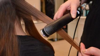 Saç düzleştiren tarak nasıl kullanılır?