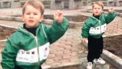 Uraz Kaygılaroğlu çocukluk fotoğrafını paylaştı