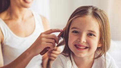 Saçlar acıtmadan nasıl taranır?