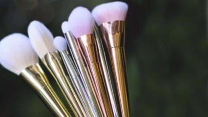 Eklips metal fırça koleksiyonu denemesi