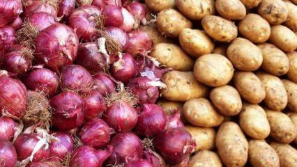 Yiyecekler nasıl saklanmalı? Soğan ile patatesi aynı yere koyarsanız...