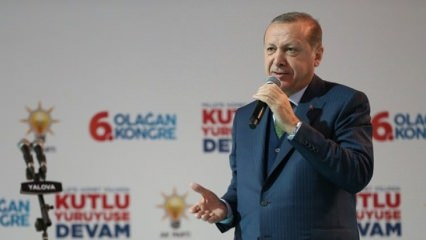 Erdoğan'dan Cizre ve Yüksekova açıklaması
