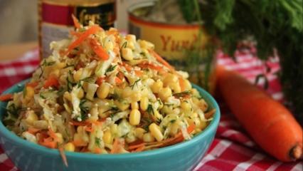 Mısırlı lahana salatası tarifi