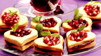 Narlı muhallebili kurabiye tarifi