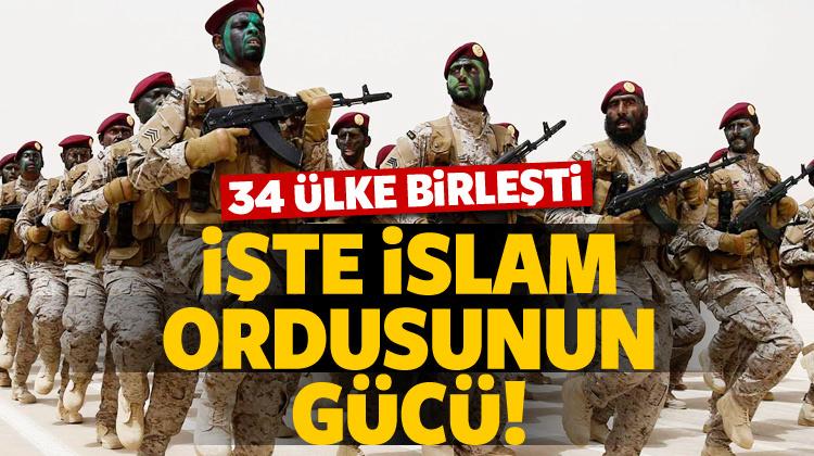 İşte İslam ordusunun gücü!