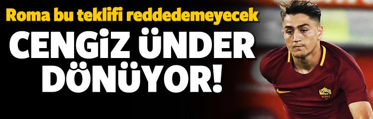 Cengiz Ünder Süper Lig'e dönüyor!
