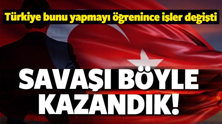 'Yeni nesil' hamle! Türkiye savaşı böyle kazandı