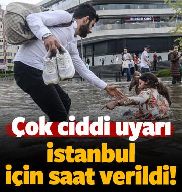 Meteoroloji'den İstanbul'a flaş uyarı! O saate dikkat