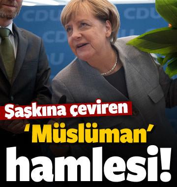 Almanya'da şaşkına çeviren 'Müslüman' hamlesi