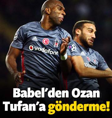 Babel'den Ozan Tufan'a gönderme!