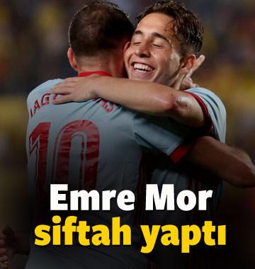 Emre Mor attı Celta gol şov yaptı