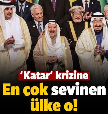 Katar krizinin en çok yaradığı ülke o!