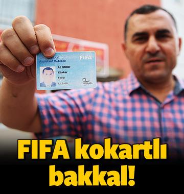 Kayseri'nin FIFA kokartlı bakkalı
