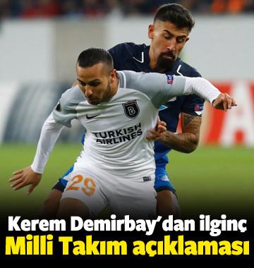 Kerem Demirbay'dan ilginç milli takım açıklaması!