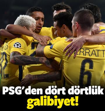 PSG'den dört dörtlük galibiyet!