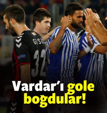 Vardar'ı gole boğdular!