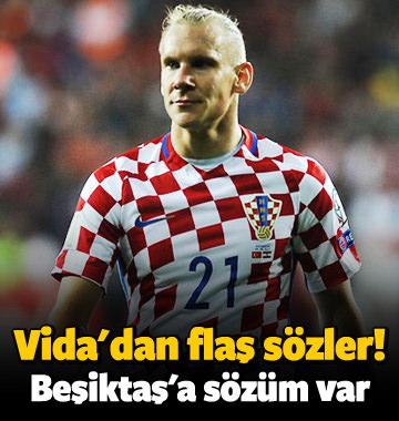 """Vida resmen açıkladı! """"Beşiktaş'a sözüm var"""""""