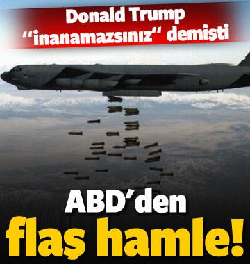 ABD'den flaş hamle! Trump 'inanamazsınız' demişti