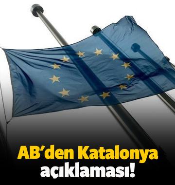 AB'den Katalonya açıklaması