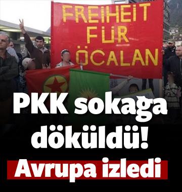 Avrupa PKK'nın sokağa dökülmesini izliyor