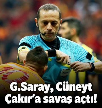 G.Saray, Cüneyt Çakır'a savaş açtı!