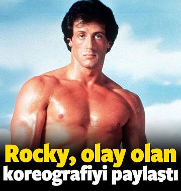 Rocky, olay olan koreografiyi paylaştı!