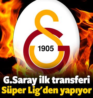 G.Saray ilk transferini Süper Lig'den yapıyor!