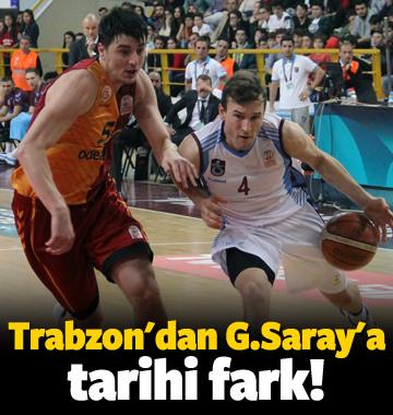 Trabzonspor'dan G.Saray'a tarihi fark!