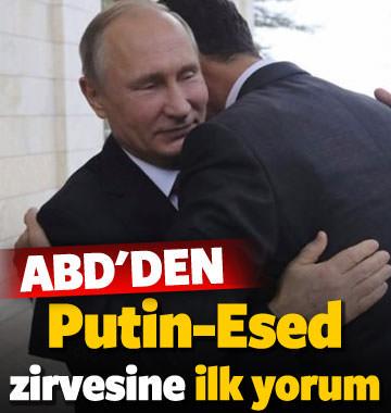 ABD'den Putin-Esed görüşmesine ilk yorum