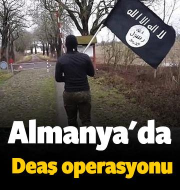 Almanya'da terör operasyonu