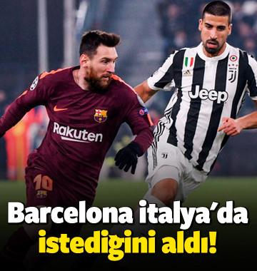 Barcelona İtalya'da istediğini aldı!