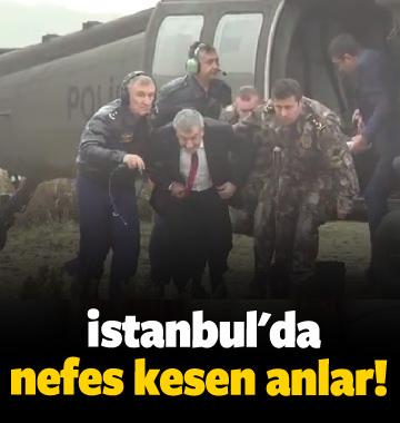 İstanbul'da nefes kesen anlar!