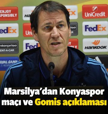 Marsilya'dan Konyaspor maçı ve Gomis açıklaması