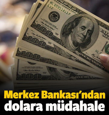 Merkez Bankası'ndan dövize karşı hamle