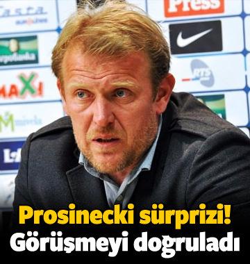 Prosinecki sürprizi! Görüşmeyi doğruladı