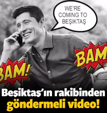 Beşiktaş'ın rakibinden göndermeli paylaşım!