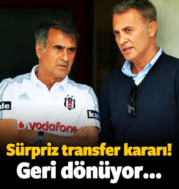 Beşiktaş'tan sürpriz transfer! Geri dönüyor...