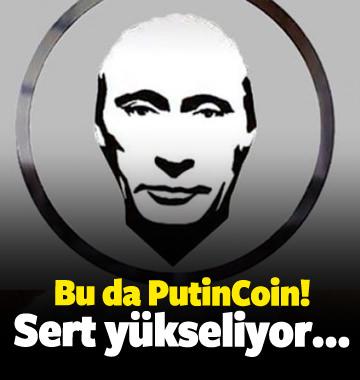 Bu da PutinCoin! Sert yükseliyor...