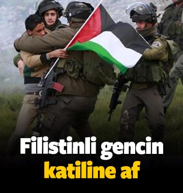 Filistinli gencin katiline af geldi