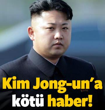 Kim Jong-un'a kötü haber!