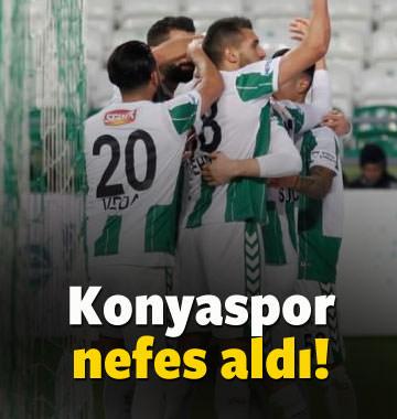 Konyaspor Karabük'ü devirdi, nefes aldı