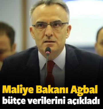 Maliye Bakanı Ağbal bütçe verilerini açıkladı