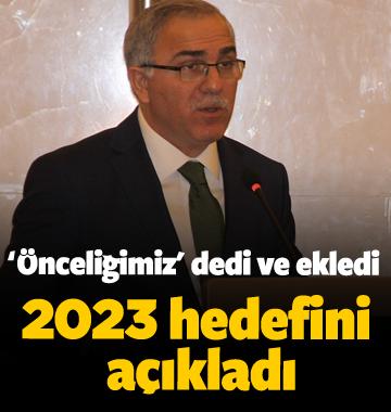 TOKİ 2023 hedefini açıkladı!