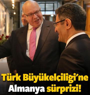 Türk Büyükelçiliği'ne Almanya sürprizi