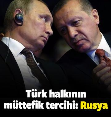 Anket açıklandı! Rusya birinci sırada