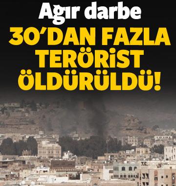 30'dan fazla Husi öldürüldü