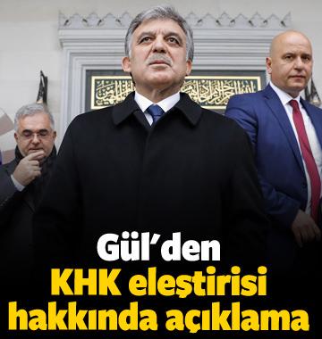 Abdullah Gülden KHK eleştirisi hakkında açıklama 11