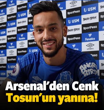 Arsenal'den Cenk Tosun'un yanına!