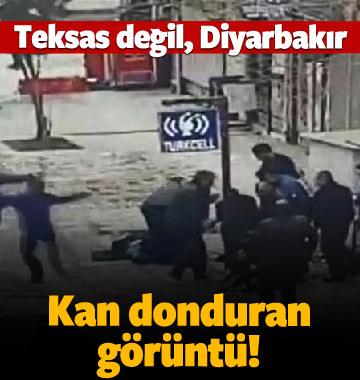 Diyarbakır'daki çatışmanın görüntüleri çıktı