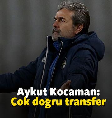 Aykut Kocaman: Çok doğru bir transfer